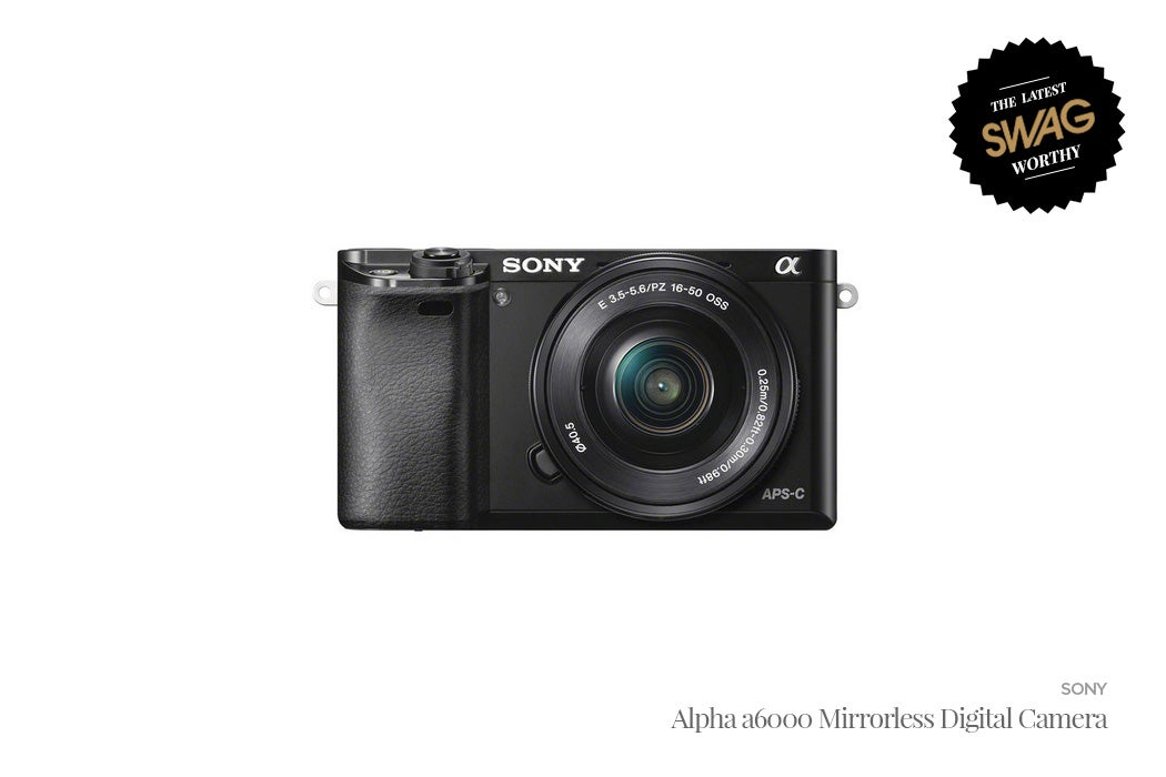 Sony Alpha A6000 - #SWAGWorthy Travel Essentials | SWAGGER Magazine