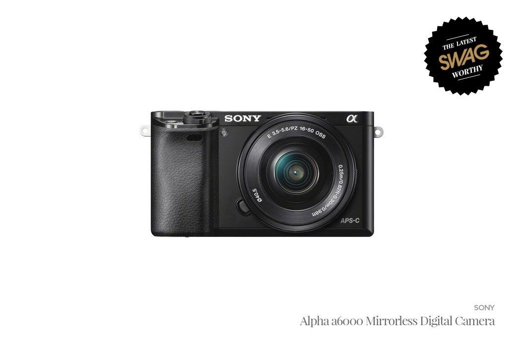 Sony Alpha A6000 - #SWAGWorthy Travel Essentials | SWAGGER Magazine