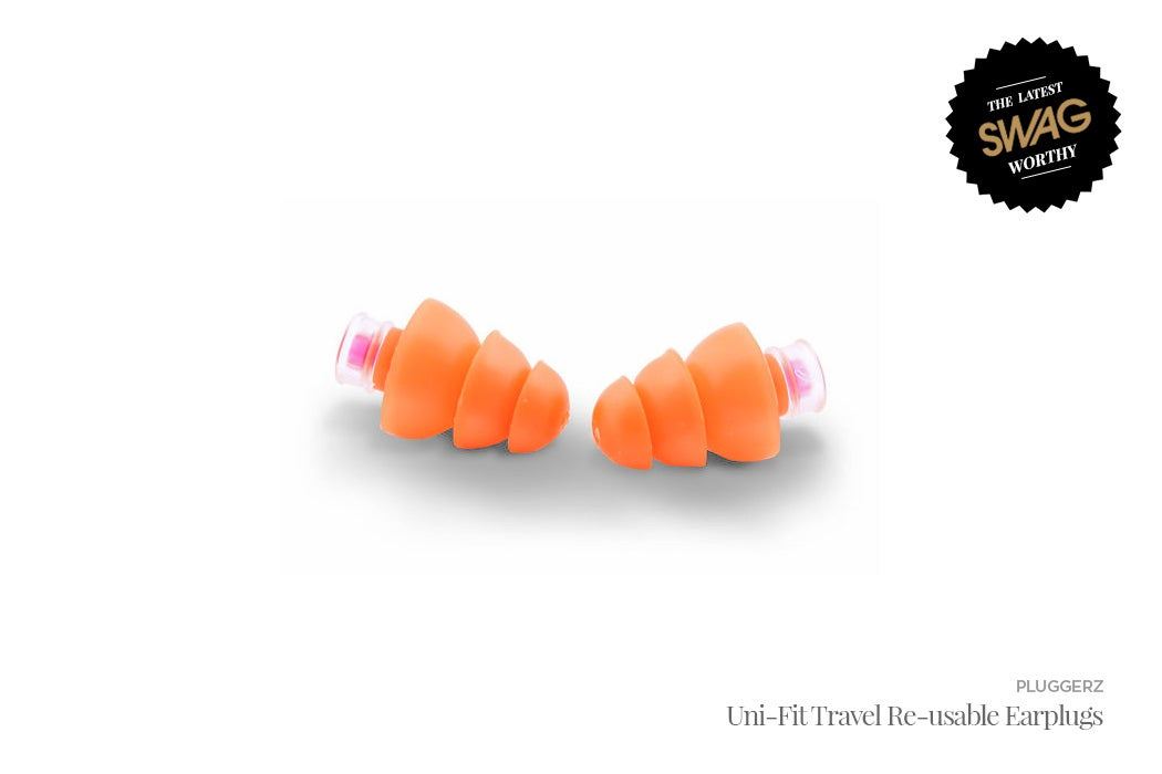 Pluggerz Re-usable Earplugs - #SWAGWorthy Travel Essentials | SWAGGER Magazine