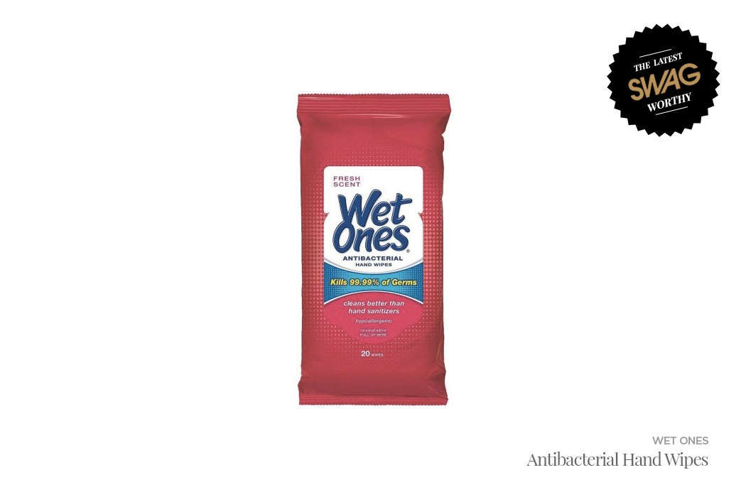 Wet Ones Antibacterial Wipes - #SWAGWorthy Travel Essentials | SWAGGER Magazine