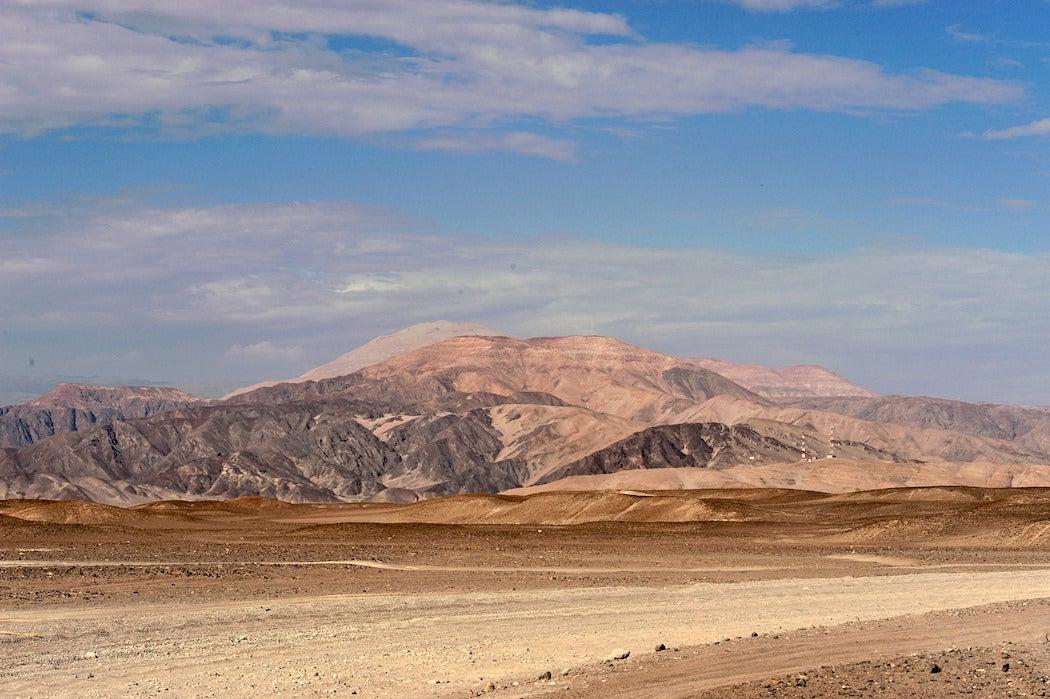 Cahuachi in Nazca, Peru