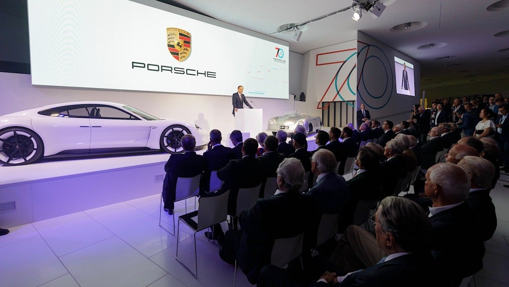 Oliver Blume - Porsche Sportscar Together Opening Ceremony | SWAGGER Magazine