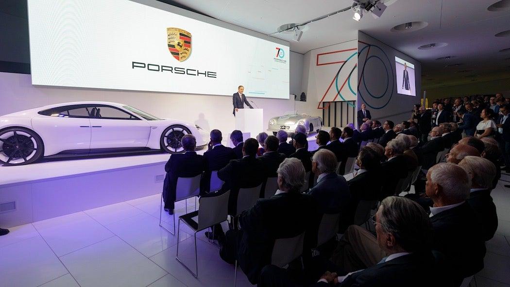 Oliver Blume - Porsche Sportscar Together Opening Ceremony | SWAGGER Magazine