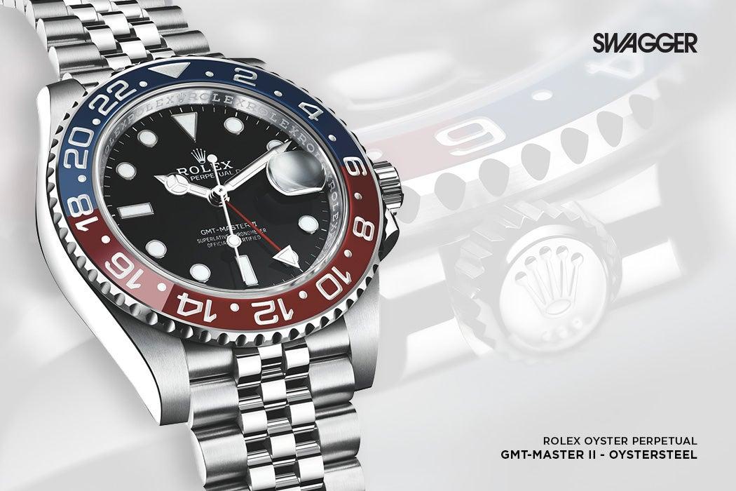 Rolex GMT Master II Oystersteel - Rolex Baselworld 2018 | SWAGGER Magazine