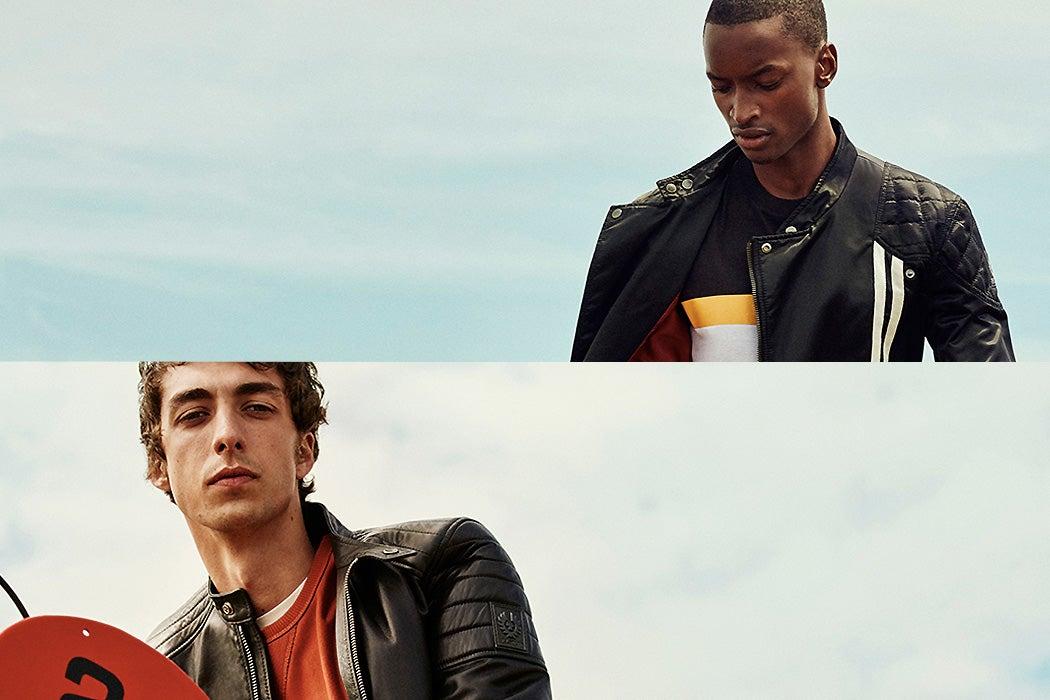 belstaff men's leather jackets - Swagger Magazine