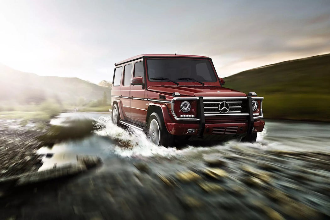Mercedes Benz G550 Red SUV | SWAGGER Magazine
