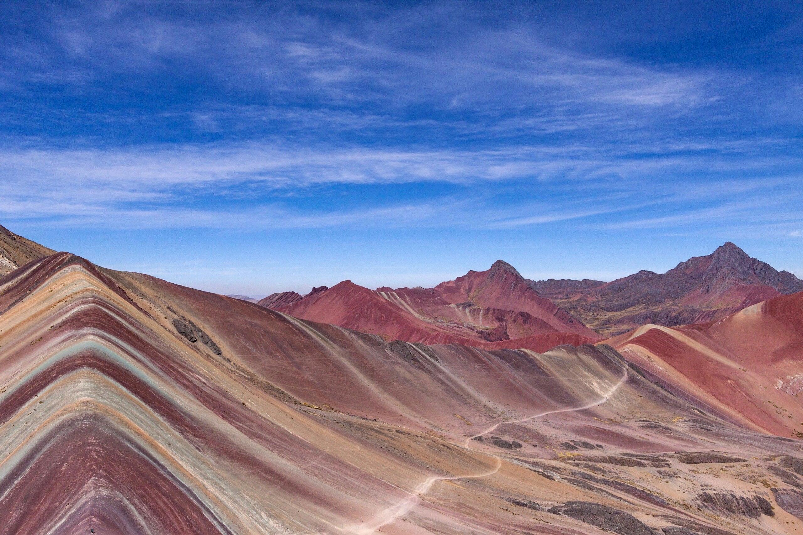 Vinicunca Rainbow Mountain, Peru (Visit Peru)