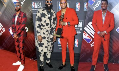 NBA Awards 2018 Best Dressed Men - #SWAGWorthy | SWAGGER Magazine