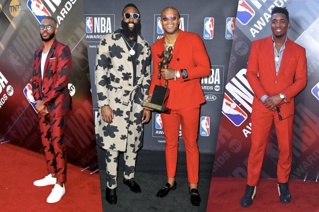 NBA Awards 2018 Best Dressed Men - #SWAGWorthy | SWAGGER Magazine