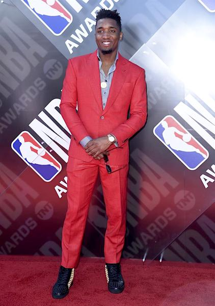 Donovan Mitchell - NBA Awards 2018 Best Dressed | SWAGGER Magazine
