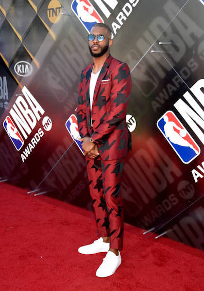 Chris Paul - NBA Awards 2018 Best Dressed | SWAGGER Magazine