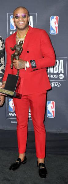 PJ Tucker - NBA Awards 2018 Best Dressed | SWAGGER Magazine
