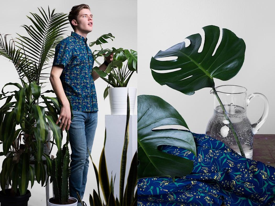 Poplin & Co Printed Collar Shirts - Men's Summer Style | SWAGGER Magazine