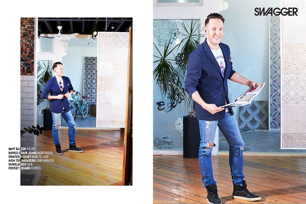 Shai DeLuca-Tamasi - Toronto Interior Designer - Mettro Source Tiles - SWAGGER Magazine