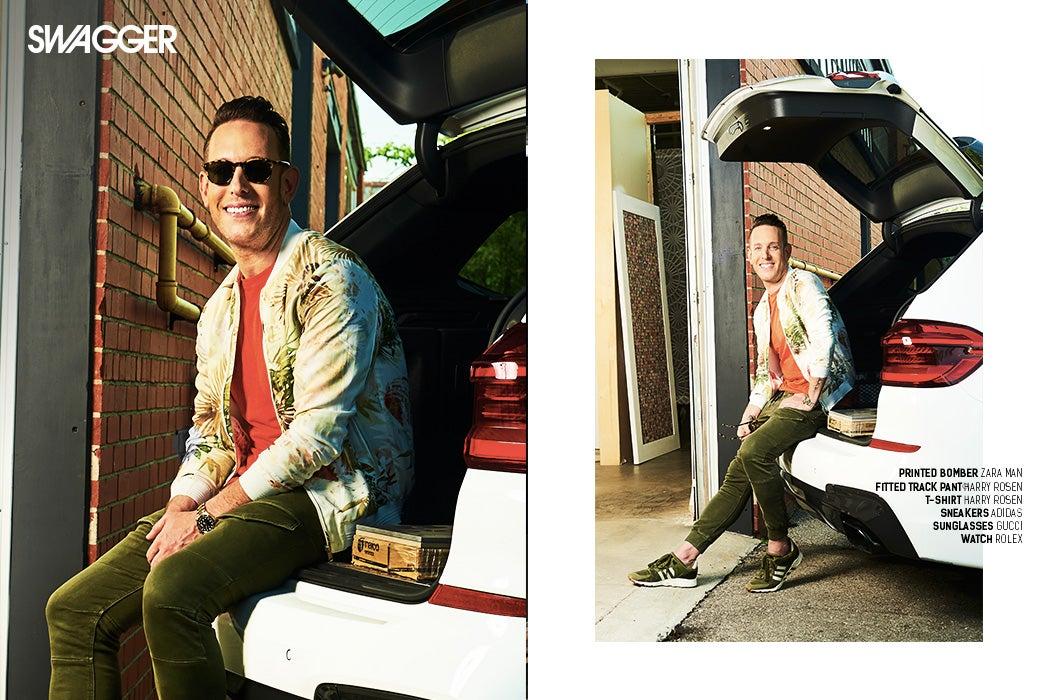 Shai DeLuca-Tamasi - Toronto Interior Designer - Mettro Source Tiles - BMW X3 2018 - SWAGGER Magazine