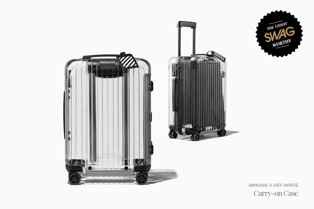 RIMOWA x OFF-WHITE Collaboration Carry-on Case - #SwagWorthy | SWAGGER Magazine