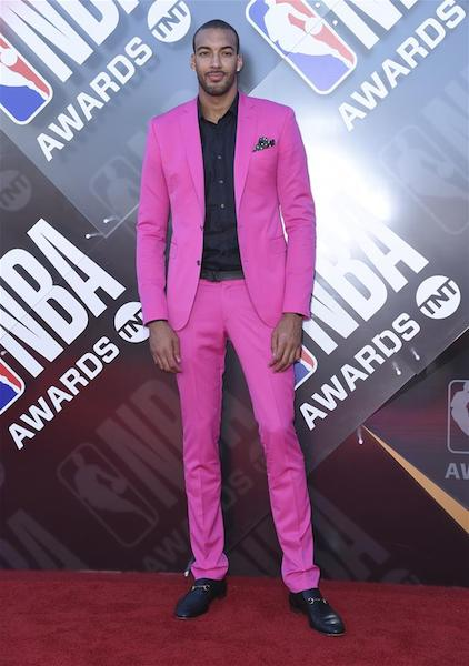 Rudy Gobert - - NBA Awards 2018 Best Dressed | SWAGGER Magazine