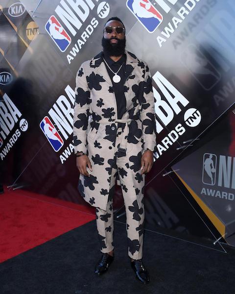 James Harden - NBA Awards 2018 Best Dressed | SWAGGER Magazine