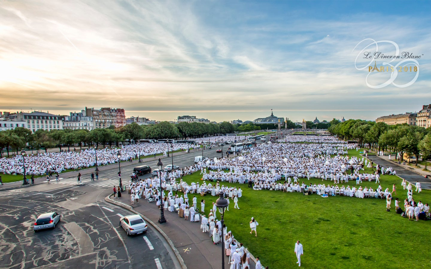 Diner en Blanc Paris - Andrea Bolley | SWAGGER Magazine