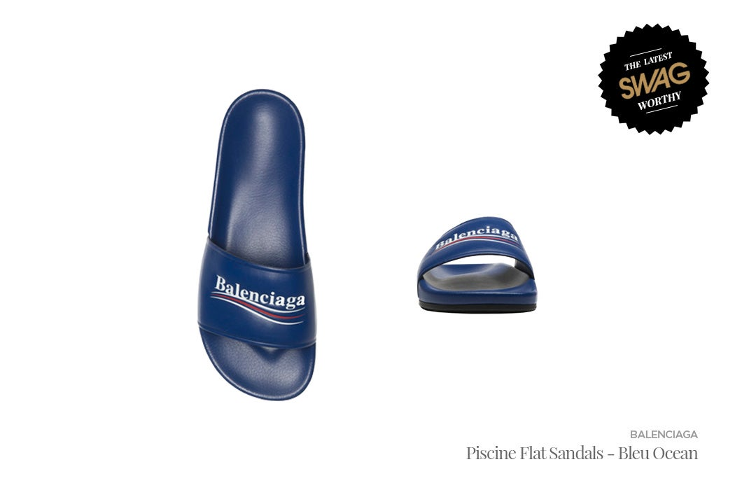 Balenciaga - Men's Slides for the Summer | SWAGGER Magazine