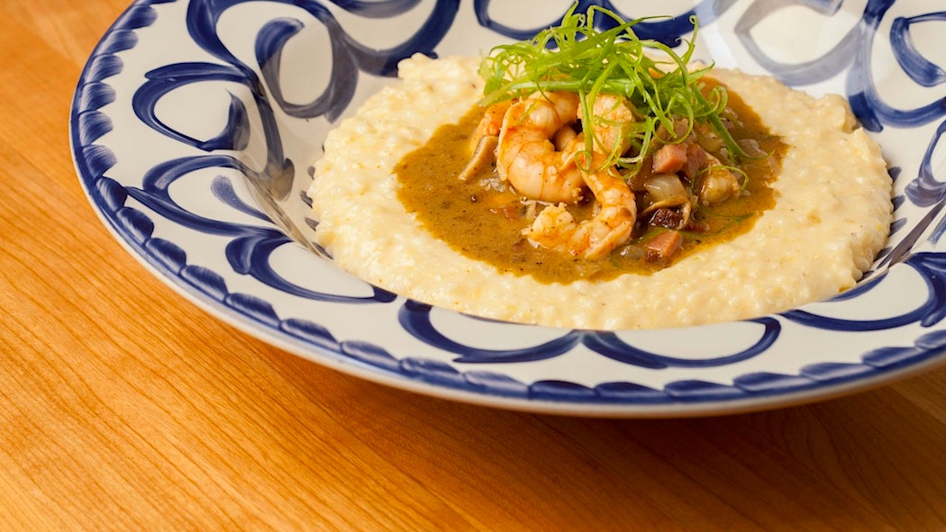 Shrimp and Grits from Big Jones Chicago - City Guide | SWAGGER Magazine