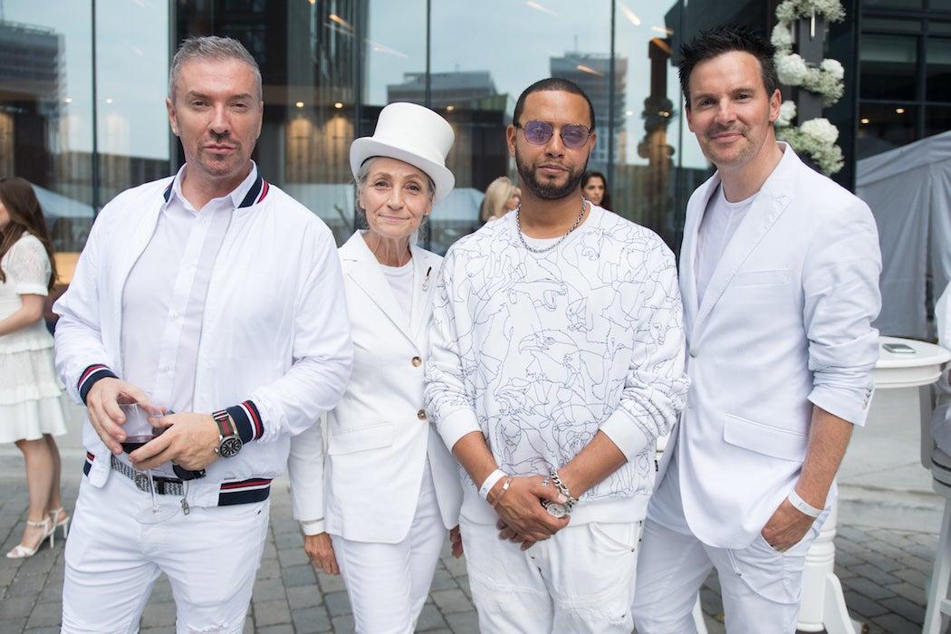 Colin & Justin, Andrea Bolley the 6 mom, Director X, OVO - Diner en Blanc | SWAGGER Magazine