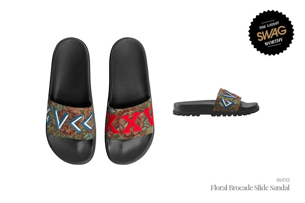 Gucci - Men's Slides for the Summer | SWAGGER Magazine