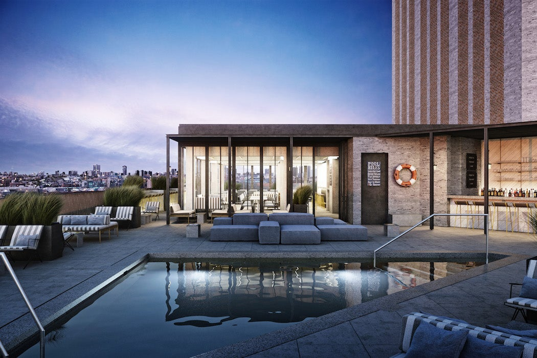 Cabana Club Rooftop Patio at Hotel Robey in Chicago (Photo: Courtesy of Hotel Robey) - Top Rooftop Patios City Guide | SWAGGER Magazine