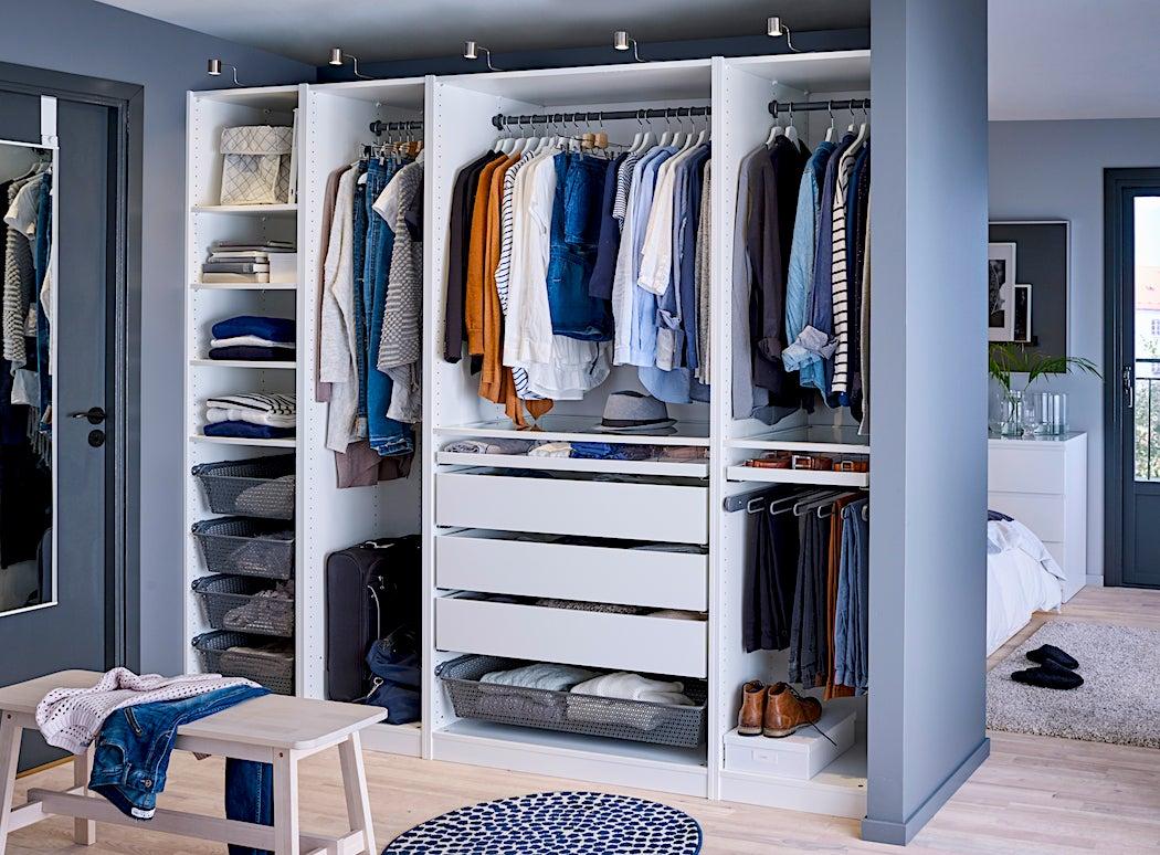 Beau Masculine Closet Design   Redesign My Closet DIY | SWAGGER Magazine   Shai  DeLuca