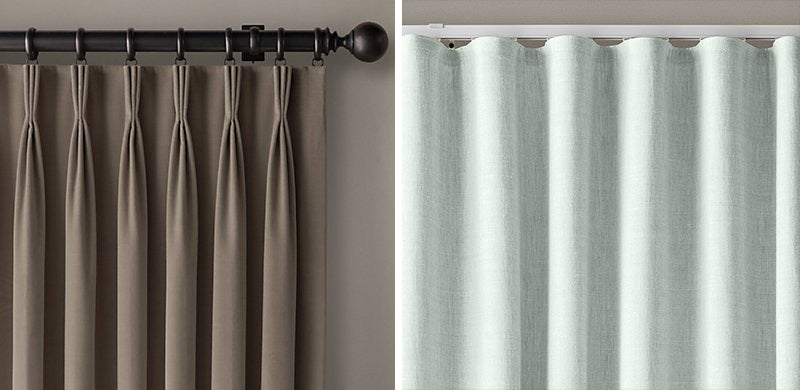 DIY Bedroom Design Tips - Shai Deluca - Ripple Fold Drapery French Pleat Restoration Hardware | SWAGGER Magazine