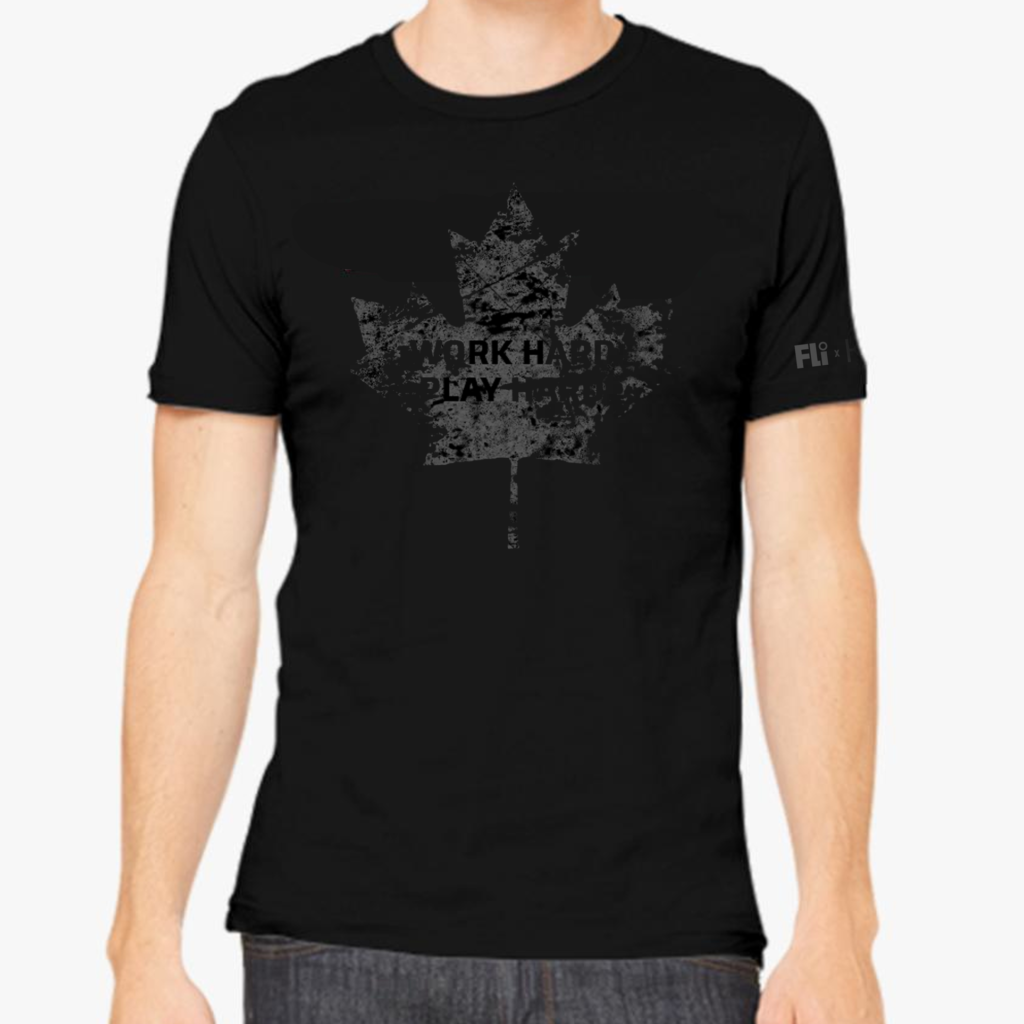 Doug Gilmour T Shirt Work Hard Play Hard   SWAGGER Magazine