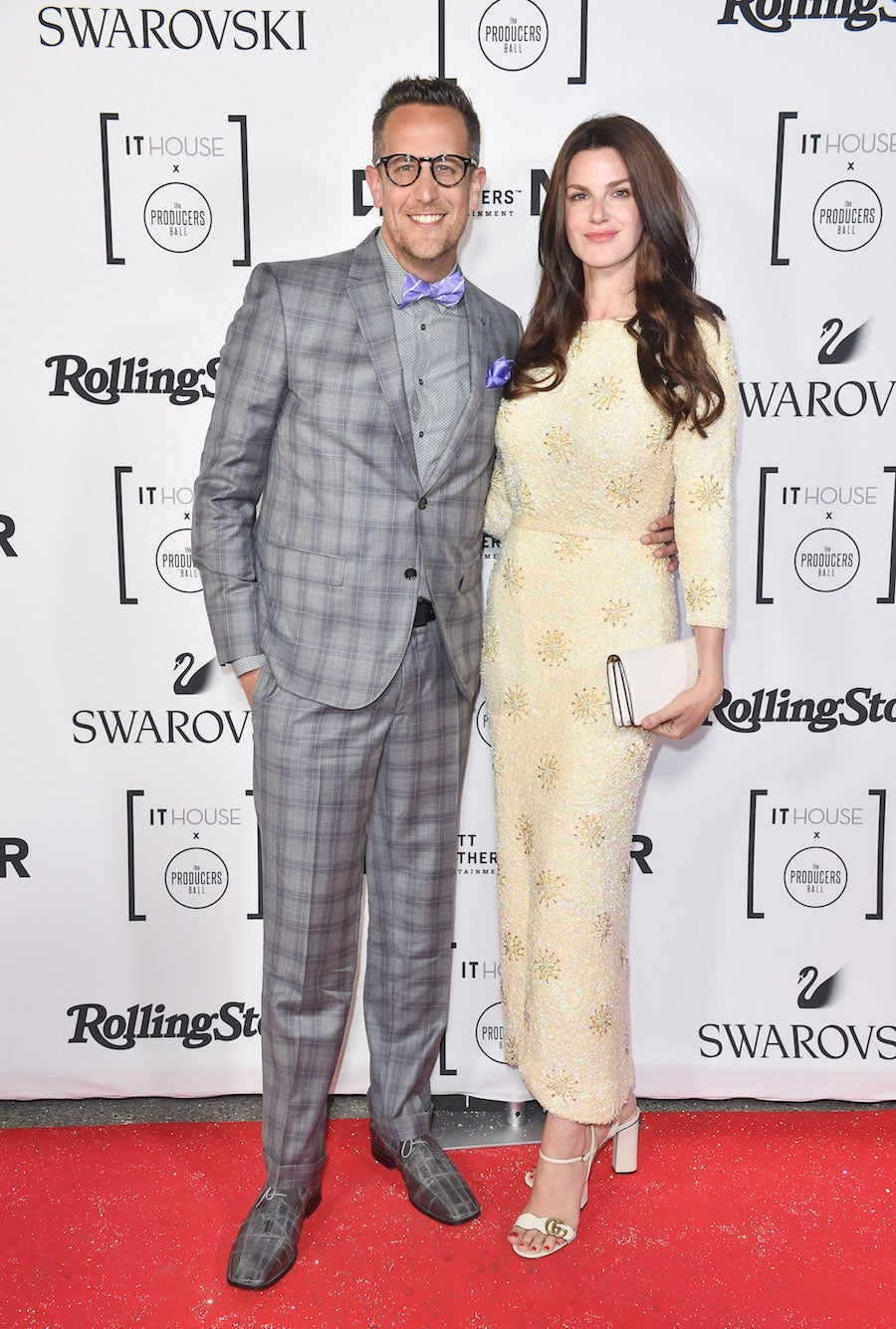 Noah Cappe and Kerri West at IT House Producers Ball TIFF 2018 | SWAGGER Magazine