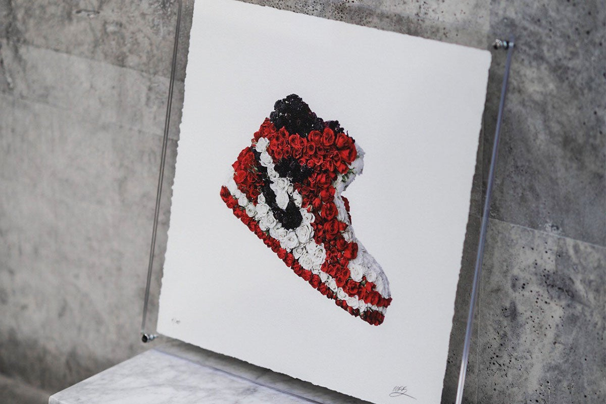 Mr Flower Fantastic Exclusive Interview Nike Air Force One - Rosalyn Solomon for Swagger Magazine