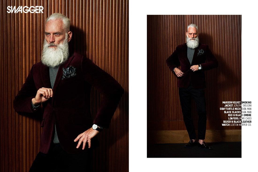 The Original Fashion Santa Paul Mason - SWAGGER Magazine