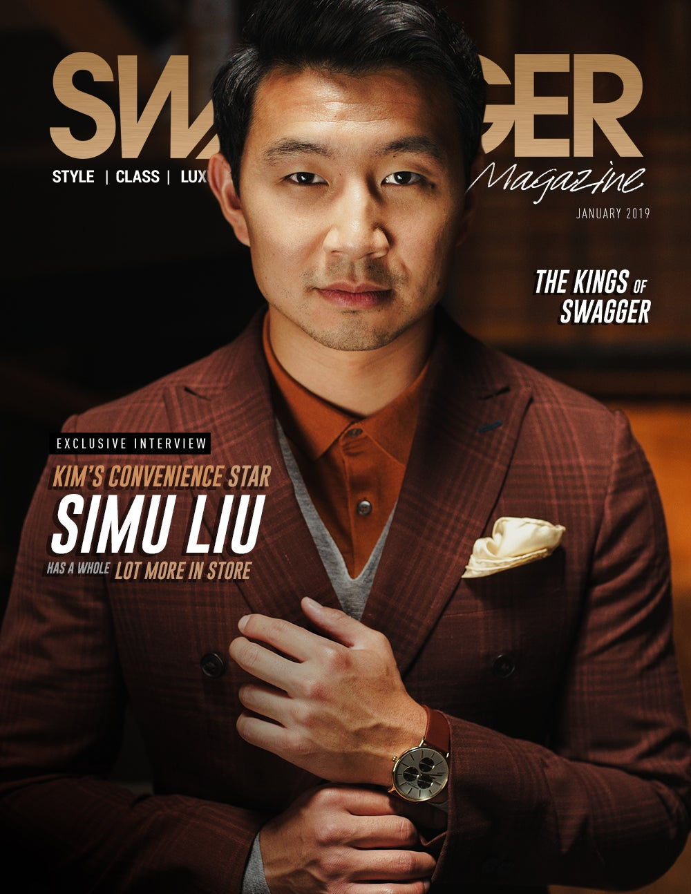 Simu Liu Kim's Convenience SWAGGER