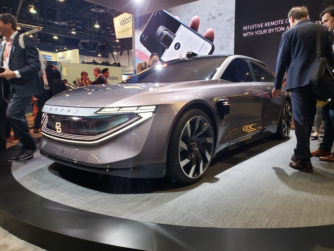Byton at CES 2019 - SWAGGER Magazine