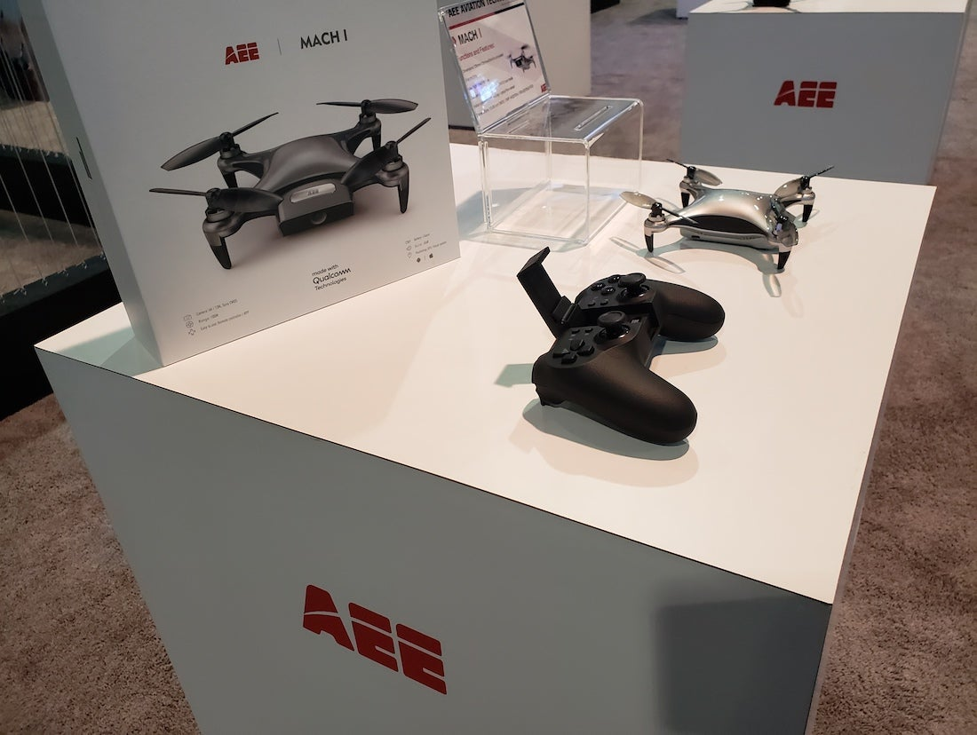 AEE USA at CES 2019 - SWAGGER Magazine