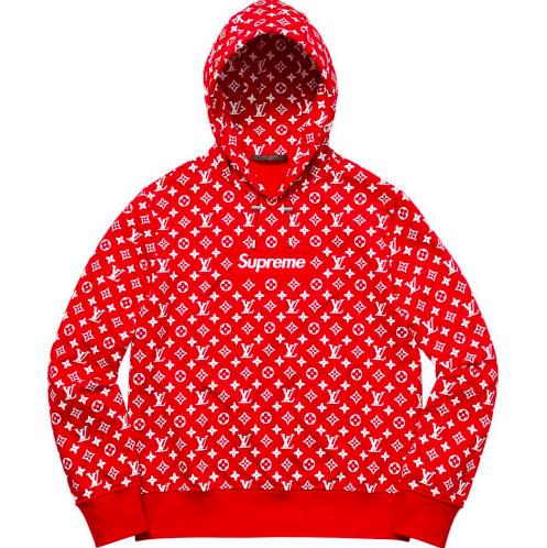ebay All Star Weekend Drop Supreme Louis Vuitton Sweater Hoodie