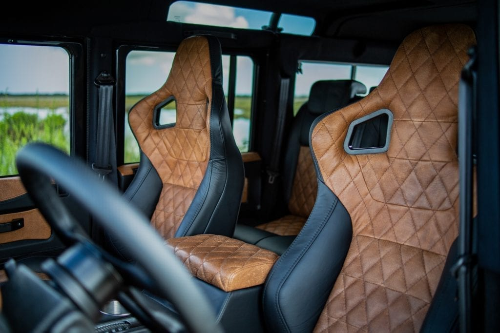 Custom Land Rover Defender Luxury from the Masterminds at ECD