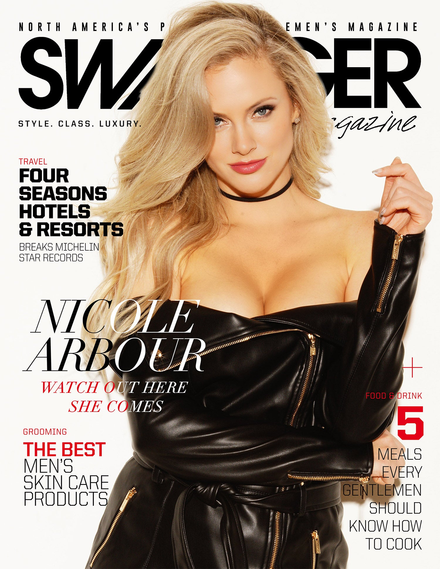 Nicole Arbour SWAGGER Magazine Cover Story