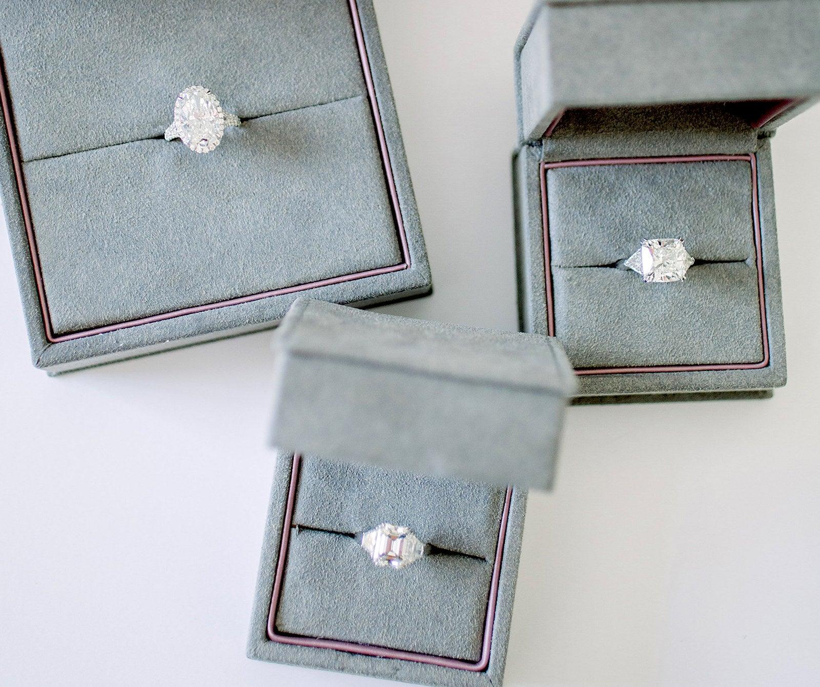 Engagement Rings - Miss Diamond Ring