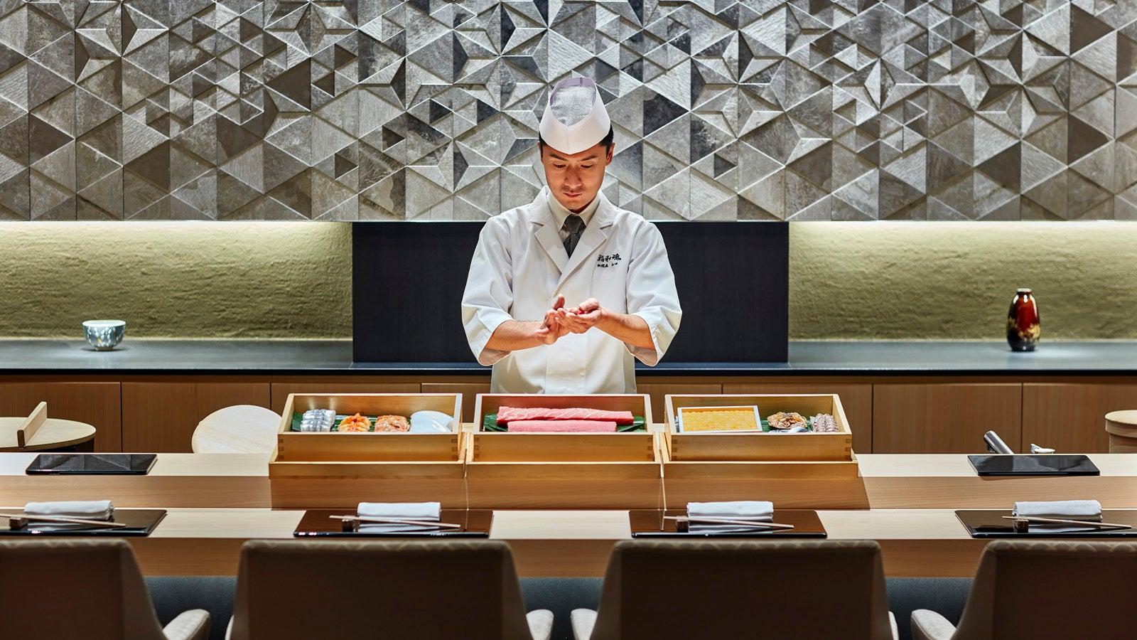 Sushi Waikon, Four Seasons Hotel Kyoto - SWAGGER