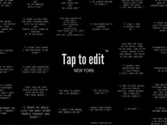 tap to edit