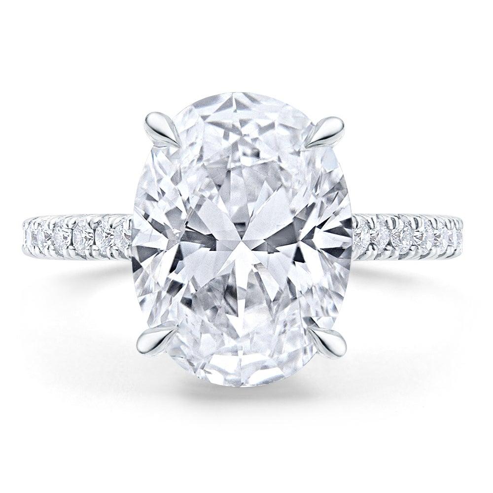 Engagement Diamond Ring - Michelle Demaree Miss Diamond Ring