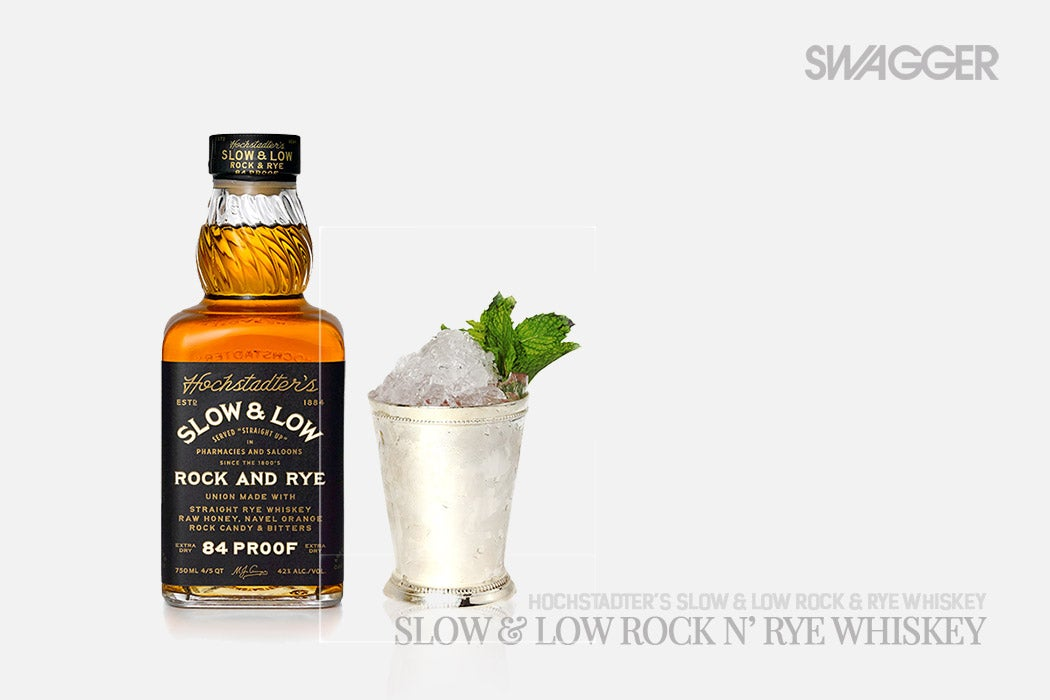 Kentucky Derby Cocktails Slow & Low Rock and Rye Whiskey