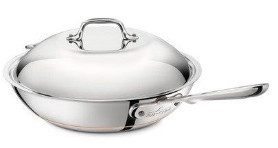 "All-Clad Copper Core 12"" Chef's Pan"