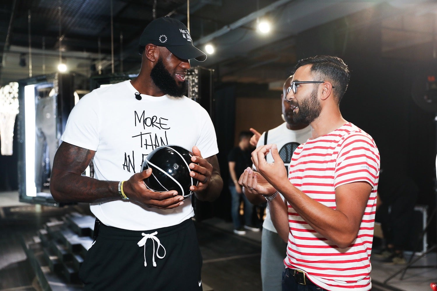 Victor Solomon LeBron James Literally Balling Nike Experiential