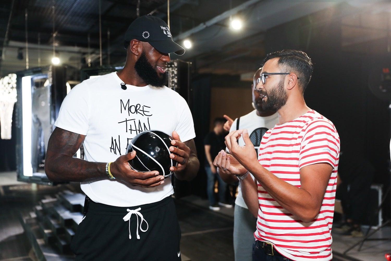 Victor Solomon LeBron James Literally Balling Nike Experiential