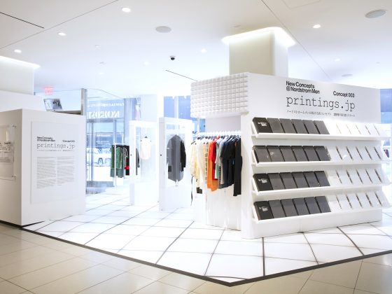 Nordstrom Pop-up Concept 003 Printings.jp Nordstrom Canada Pacifica Centre