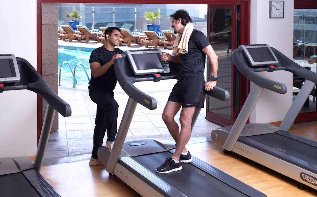 Fairmont Dubai Gym